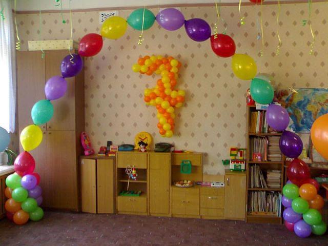 Как украшать дом на день рождения своими