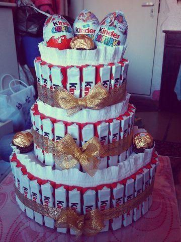 Торт на день рождения своими руками пошагово